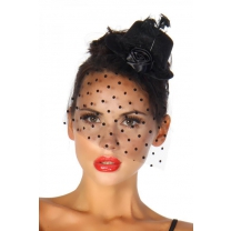 Rockabilly mini-hoed / fascinator