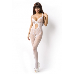 Wit kanten bodystocking